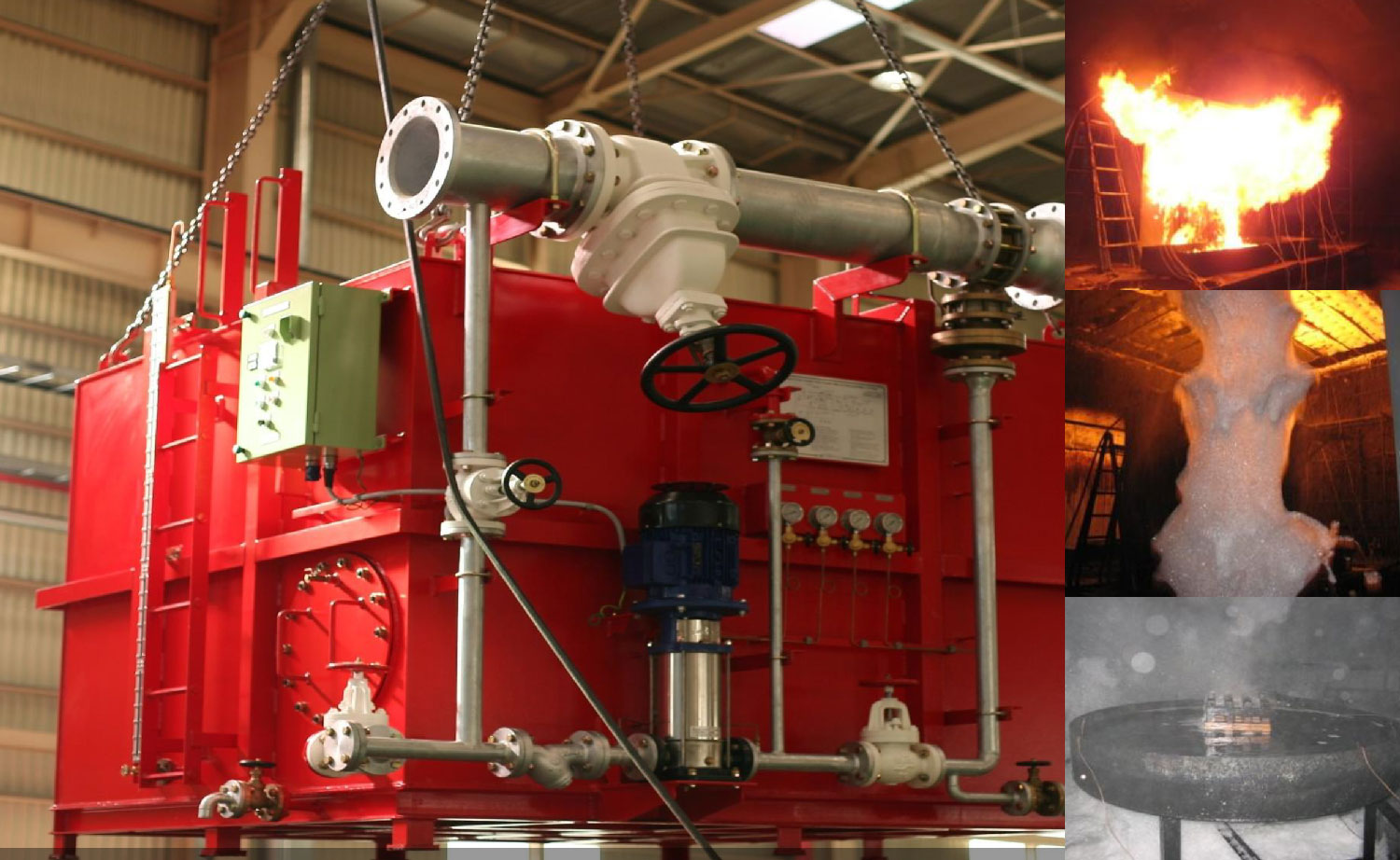 Fire Extinguishing Systems Global Marine Safety